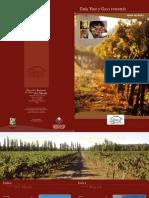 Guía de Vino y Gastronomía. Región del Maule