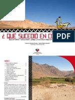 Guía patrimonial. ¿Qué sucedió en Copiapó. Rescatando y educando sobre la historia prehispana de Atacama
