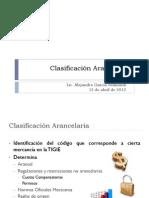Clasificacion Arancelaria AGS