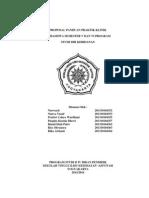 Proposal Praktik Klinik Kebidanan New