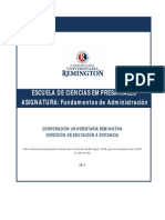 Fundamentos Administracion