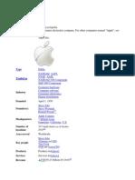 Apple. Inc