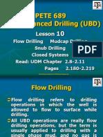 Lesson 10 Flow Mudcap Snub Closed Systems1
