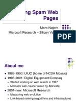 Najork Web Spam