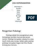 Psikologi Keperawatan