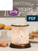 Scentsy Catalog Spring Summer 2014 United States