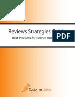 2010 Customer Reviews Strategies Guide