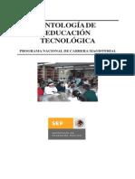 Antología de educación tecnológica