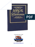 Manual de Cerimonias
