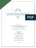 Knowledge Seminar