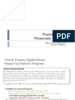 Fusion Apps - Financials Strategy