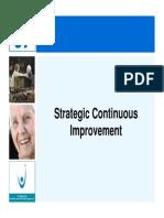 Strategic Continuous Improvement