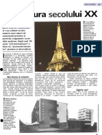 Arhitectura secolului  XX arborele lumii