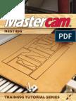 SAMPLE MastercamX7 Nesting Tutorial