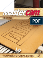 SAMPLE MastercamX7 Nesting Tutorial
