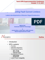 Superconducting Fault Current Limiters