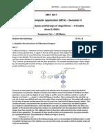 Analysis and Design of Algorithms Set u 1