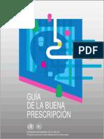 Guia de La Buena Prescripcion Oms
