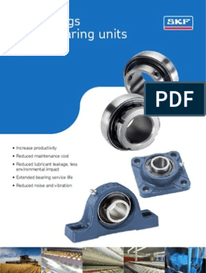 Y-Bearings and Units Equivalent List (JIS to SKF
