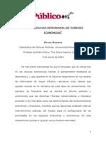 """LA IDEOLOGÍA QUE REPRODUCEN LAS """"CIENCIAS ECONÓMICAS"""".pdf"""
