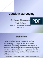 Geodetic Surveying
