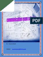 Communication Exam Solutions