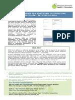 Declarations Phyto Certificates En
