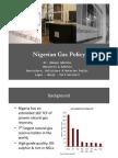 Nigerian Gas Policy