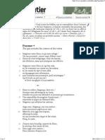 Psautier œcuménique en ligne - Psaume 7
