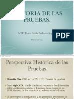 Historia de Las Pruebas de Desarrollo
