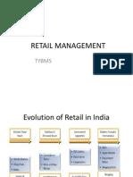 Retail Management- Internal