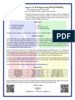 International Congress on Web Engineering 2014 CFP