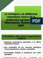 La Orinoquia y La Altillanura Colombiana Futuro de La Produccion Agropecuaria