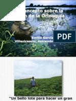 Un Concepto Sobre La Region de La Orinoquia