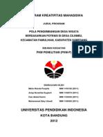 Proposal PKMP tentang Desa Wisata
