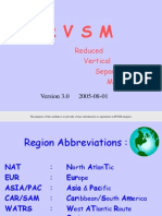 Reduced Vertical Seperation Minimum