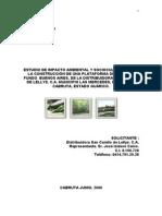 Estudio de Impacto Ambiental Distribuidora Camillo