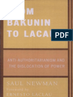 Newman Saul From Bakunin to Lacan Anti Authoritarianism and the Dislocation of Power