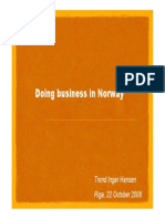 Doing Business in Norway