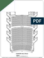 Concert Hall Seating Plan
