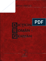 Dictionar Roman German