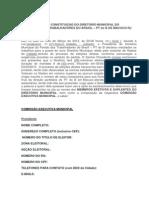 ATA DE CONSTITUIÇÃO DO DIRETÓRIO MUNICIPAL DO PT do B