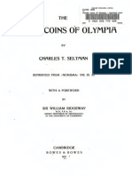 The temple coins of Olympia / by Charles T. Seltman ; with a forew. by William Ridgeway
