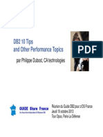 Guide DB2 DB2 10 Tips