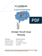 Ultra Light Aircraft Design Philosopy