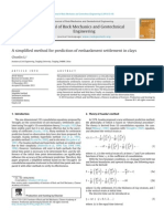 Method for Prediction Settlement - Journal of Rock Mechanics and Geotechnical Engineering