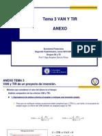 ANEXO TEMA 3 Proyectos Simples Mutuamente Excluyentes de la universidad carlos III