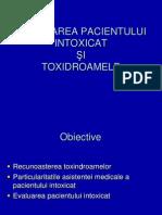14.Abordarea pacientului intoxicat