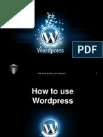 Ray_Lazaro_How to use Wordpress.ppt