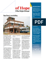 Voice of Hope House - Newsletter of the Hope House